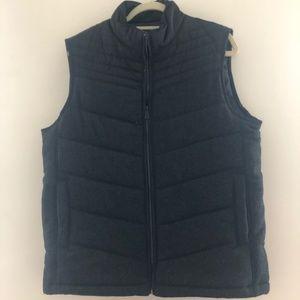 Apt 9 Black Zip Vest Medium